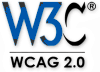 logo for W3C WCAG 2.0 Barrierefreies Webdesign
