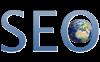logo mit text SEO für Suchmaschinenoptimierung