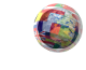 Logo für Übersetzungen ist ein Globus mit einer Atmosphäre aus Flaggen