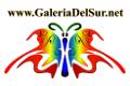 Logo of the Galeria del Sur en Málaga, www.galeriadelsur.net